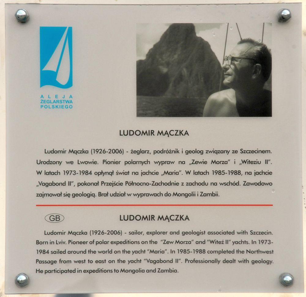 Maczka tablica 2016 11 10 Tadeusz Lademann