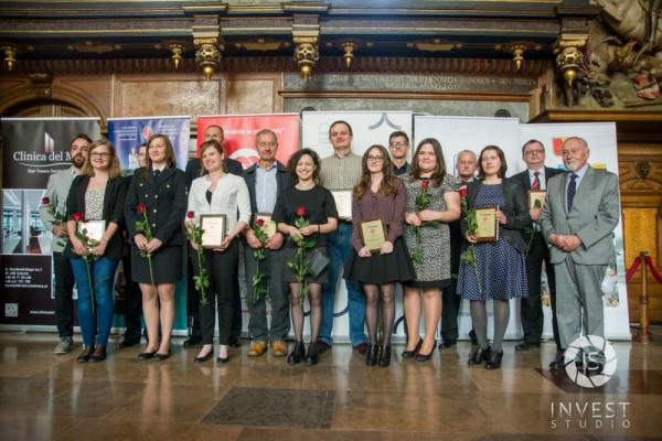 Nominowani w kategorii Wychowanie Morskie Studentow edycja 2016